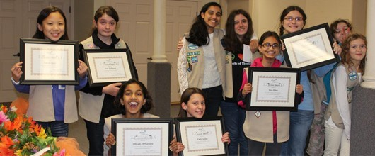 Girl Scout Bronze Awards