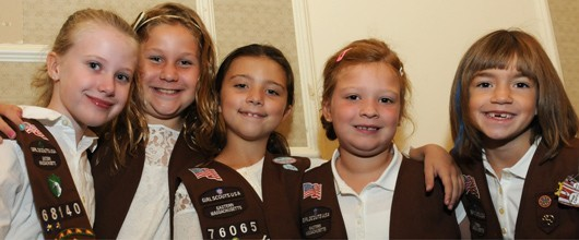 Brownie Girl Scout Troop