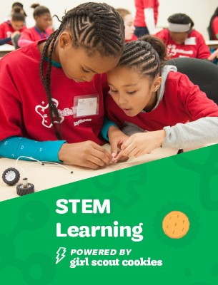 STEM learning...powered by Girl Scout Cookies