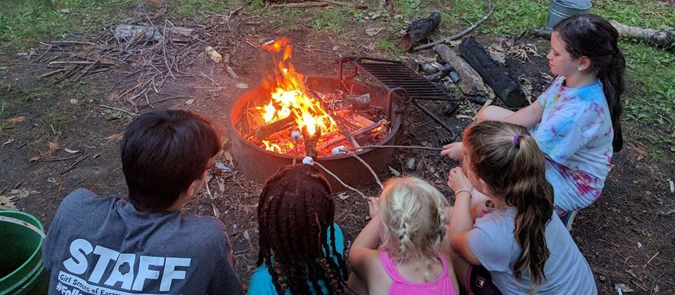 Girl Scouts at Day Camp