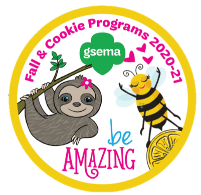 Crossover Patch: Fall & Cookie Programs 2020-21: Be Amazing.