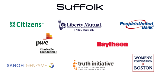 GSEMA Sponsors: BNY Mellon, Citizens, Comcast Foundation, Liberty Mutual Insurance, People's United Bank, Raytheon, Sanofi Genzyme, Women's Foundation of Boston, Truth Initiative