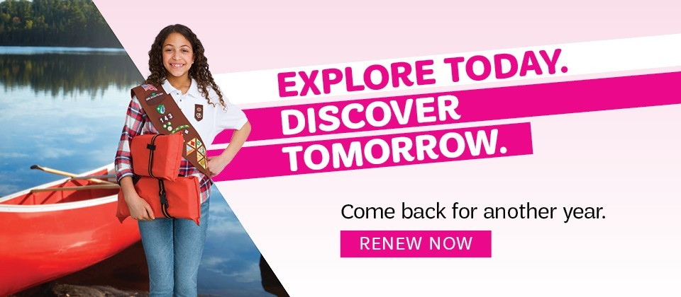 Explore Today. Discover Tomorrow. Come back for another year. Renew Now.