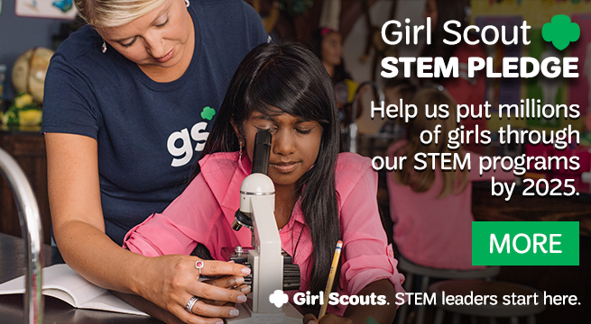 The Girl Scout STEM Pledge