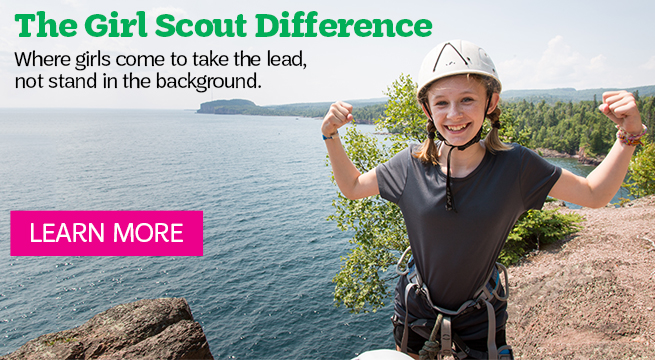 Girls Take the Lead at Girl Scouts